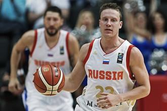 Сборная России по баскетболу встречается с Турцией на чемпионате Европы по баскетболу