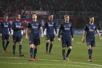 Футболисты амстердамского «Аякса»