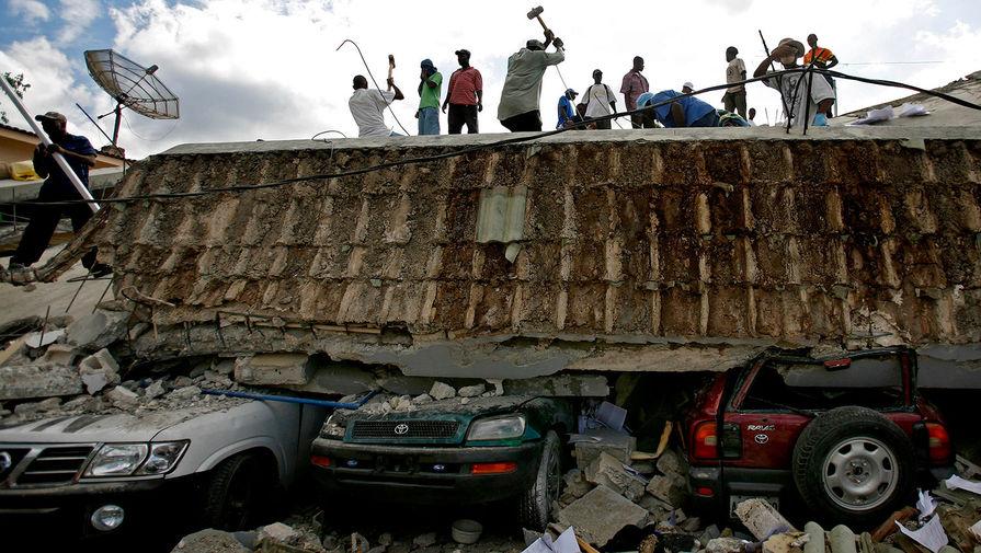 Последствия землетрясения на Гаити в 2010 году