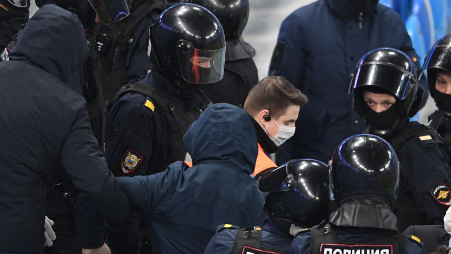 беспорядки на матче «Зенит»- «Спартак»