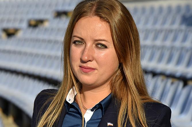 Министр спорта Крыма Елизавета Кожичева