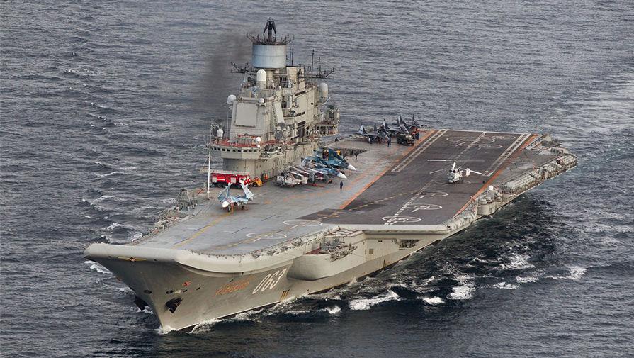 National Interest рассказал о дилемме в судьбе единственного авианосца России