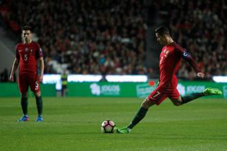 Криштиану Роналду бьется за попадание на чемпионат мира в России