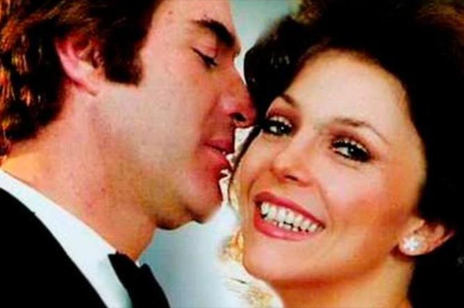 Актер Рохелио Герра с партнершей из сериала «Богатые тоже плачут»