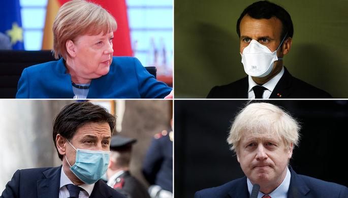 Сияют в кризис: почему растут рейтинги лидеров Европы