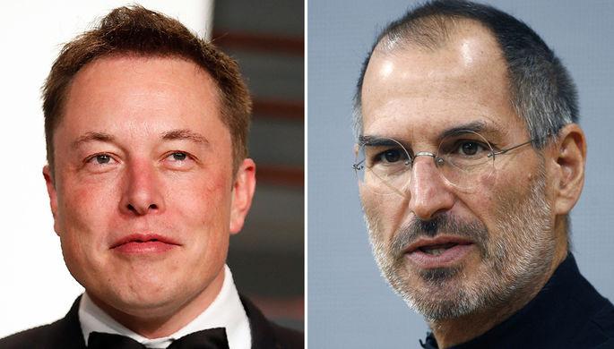 «Tesla —это Apple 20 лет назад»: как Маска сравнили с Джобсом