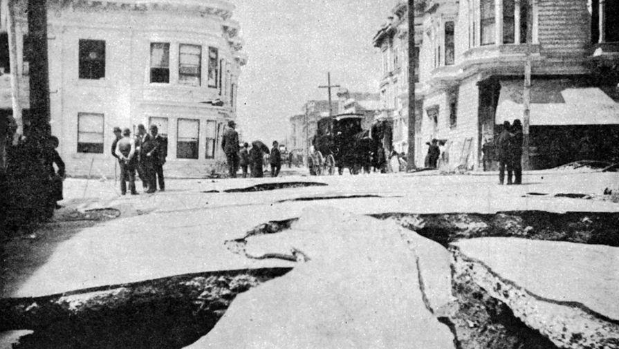 Последствия землетрясения в Сан-Франциско, 18 апреля 1906 года