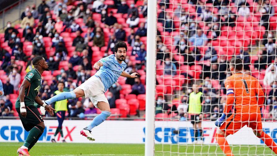 Фрагмент матча «Манчестер Сити» — «Тоттенхэм»