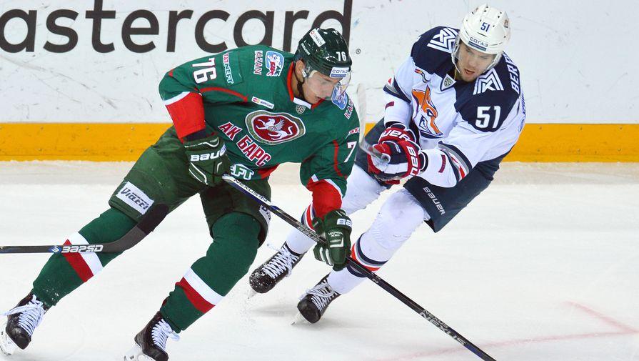 «Ак Барс» принимает на своем льду «Металлург» в полуфинале Кубка Гагарина