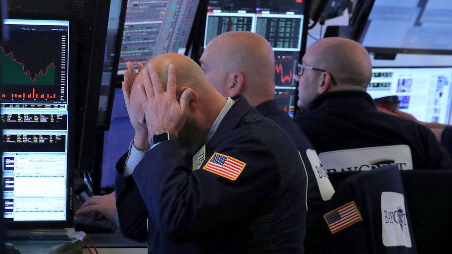 Биржи США продолжают падение в пределах 8%
