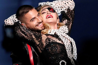 Мадонна во время выступления на Billboard Music Awards, 1 мая 2019 года