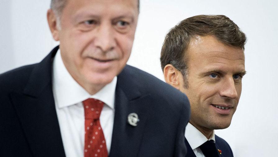 Эрдоган заявил об успешных переговорах с Макроном