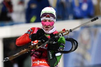 Дарье Домрачевой не было равных в спринте
