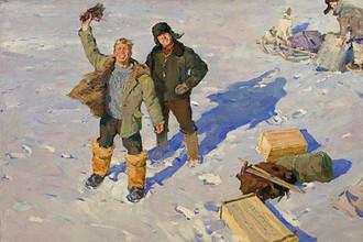 Олег Гадалов. «Геологи» (1963)