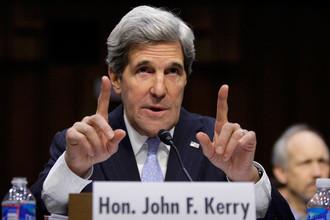 Джон Керри презентовал свою программу перед сенаторами