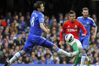 «Челси» «на одной ноге» обыграл «Суонси»