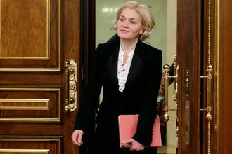 Ольга Голодец потребовала предоставить итоговый вариант положения об Агентстве