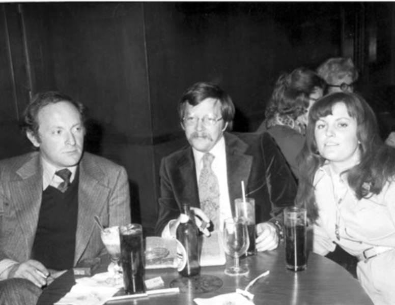 Бродский и его издатели Карл и Эллендея Проффер. 1972 г. Из архива Т. Венцловы