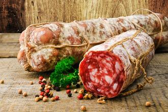 Колбасы и аналогичные продукты из мяса