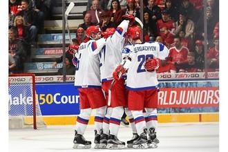 Сборная России встретится с командой США на молодежном чемпионате мира по хоккею