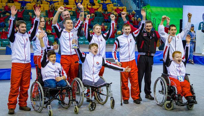 В Ханты-Мансийске прошла Спартакиада инвалидов