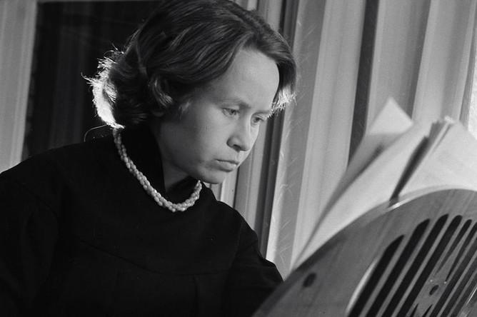 Композитор Александра Пахмутова, 1960 год