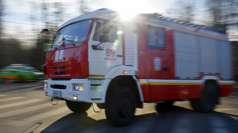 В московском СК произошел пожар