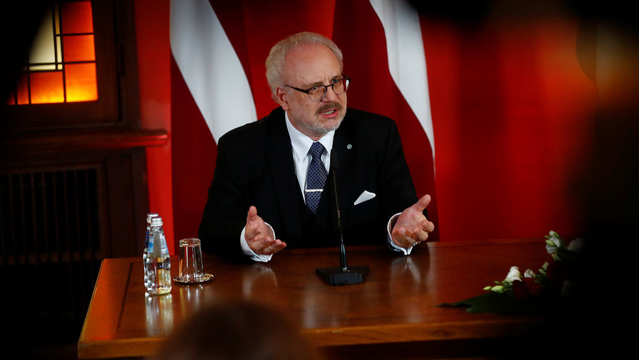Новый президент Латвии Эгилс Левитс