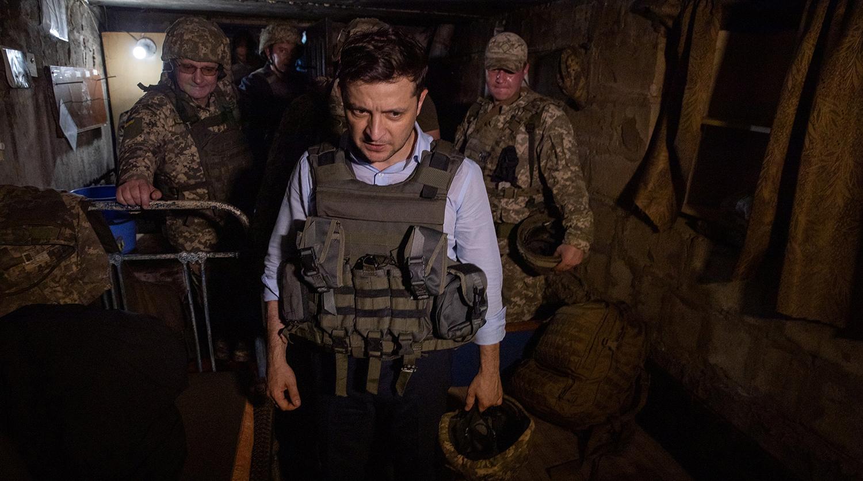 Появилось видео массированного обстрела Донецка ВСУ