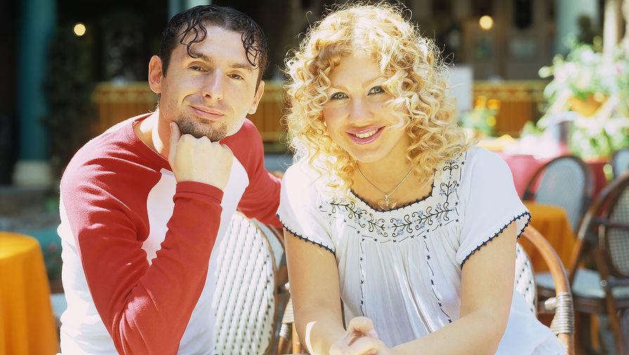 Ева Польна и Юрий Усачев, конец 1990-х