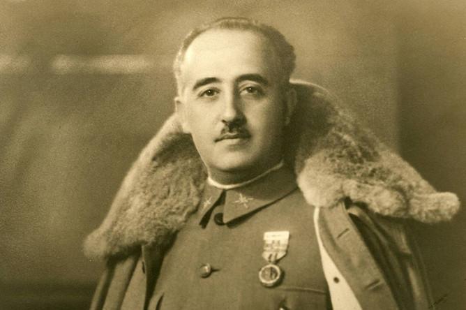 Франциско Франко, испанский военный и государственный деятель, каудильо Испании в 1939—1975 годах