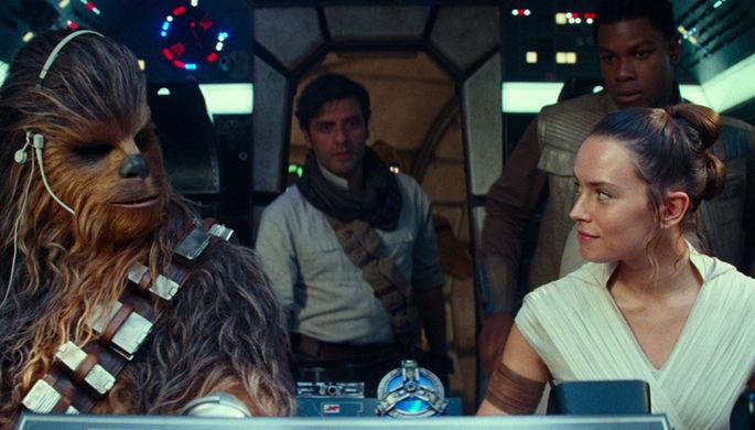 Кадр из фильма «Звездные войны: Скайуокер. Восход» (2019)