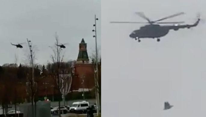 «Обычное дело»: зачем военные кружили над Кремлем