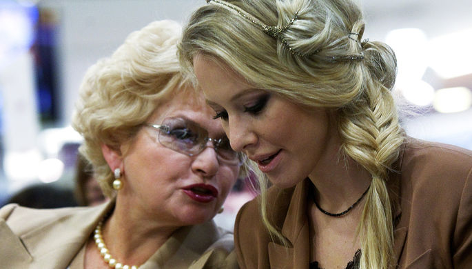 Ксения Собчак с матерью Людмилой Нарусовой