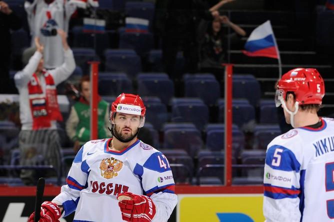 Александр Радулов отличился на 25-й минуте, забросив шайбу с передачи Ильи Ковальчука.