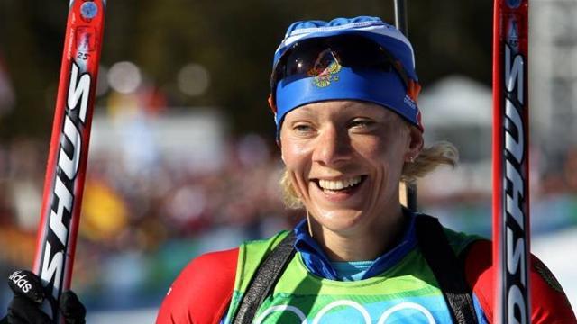 Российская биатлонистка Ольга Зайцева стала второй в спринтерской гонке на этапе Кубка мира в Эстерсунде.