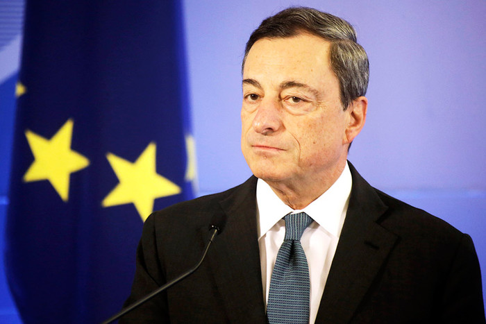 Евро ушел в минус