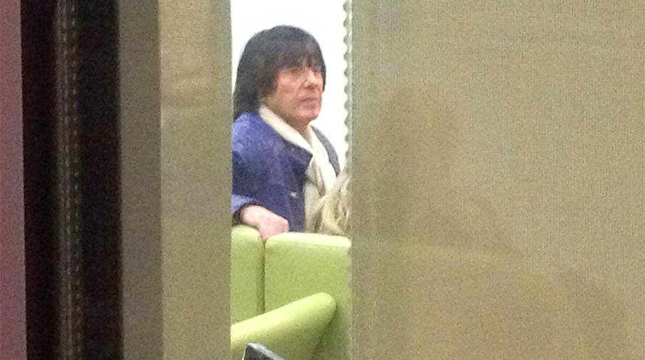Дидье Маруани в закрытом отделении Сбербанка на Покровке, 29 ноября 2016 года. Фото: Валерий Романов/«Газета.Ru»