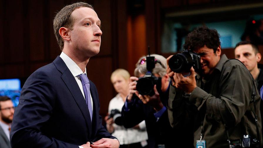 Создатель Facebook Марк Цукерберг дал показания в конгрессе США