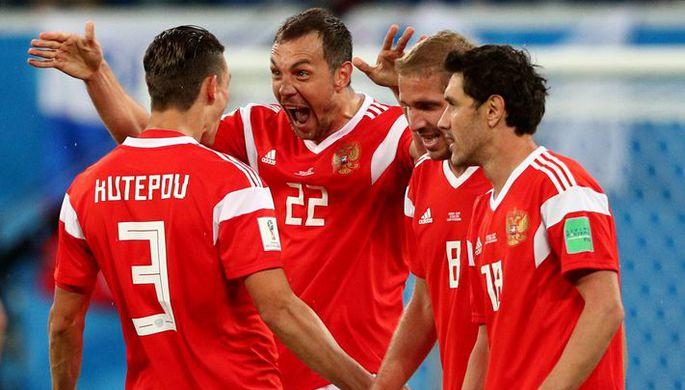 Сборная России по футболу сыграет в плей-офф чемпионата мира — 2018