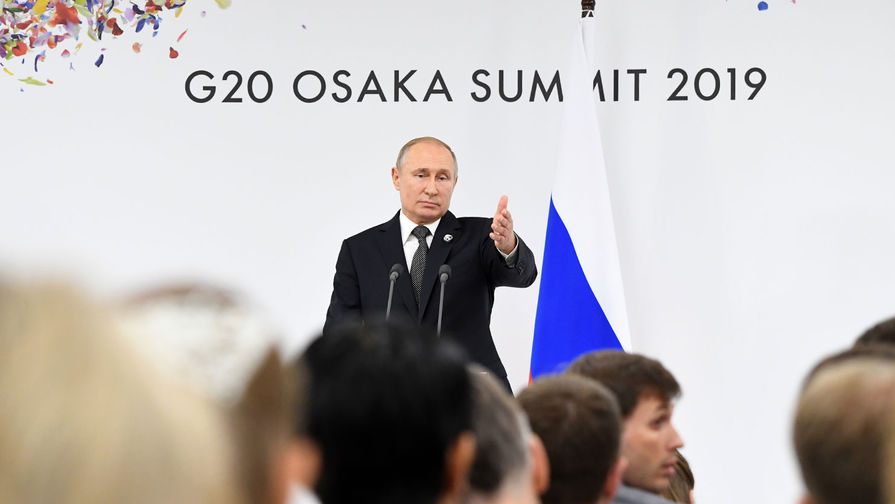 «Чтобы все запомнили»: Путин об отношении РФ к другим странам