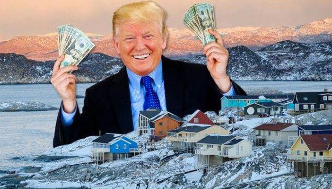 «Шопингом не занимаемся»: в Кремле оценили идею купить Гренландию