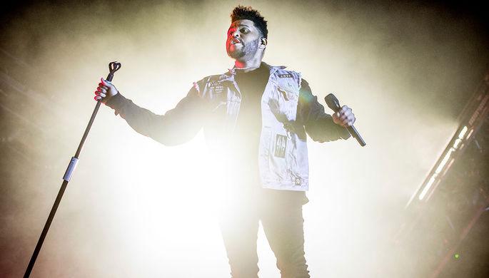 The Weeknd на фестивале музыки и искусств Bonnaroo, 2017 год