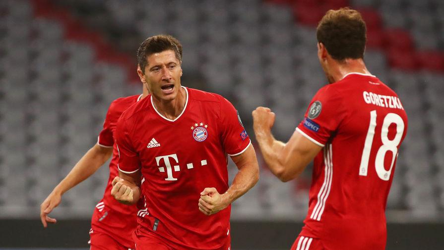 «Бавария» первой в истории забила восемь мячей в одном матче плей-офф ЛЧ