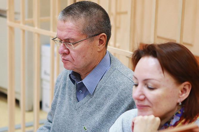 Бывший министр экономического развития Алексей Улюкаев в Басманном суде Москвы, 10 января 2017 года