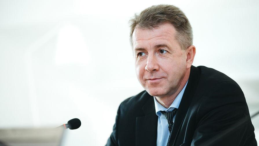 Заместитель директора ФСИН, генерал-майор внутренней службы Валерий Максименко во время интервью в редакции «Газеты.Ru», 9 марта 2017 года