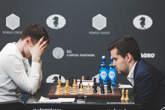 Эрнесто Инаркиев и Ян Непомнящий на этапе Гран-при в Москве