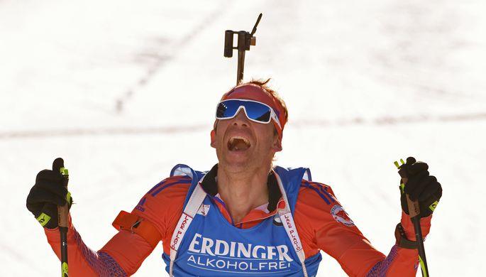 Американский биатлонист Лоуэлл Бэйли