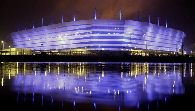 Стадион в Калининграде, который примет матчи ЧМ-2018