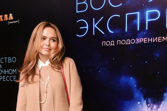 Модель и певица Стефания Маликова